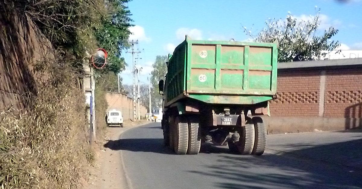 Diesel Truck in Tana