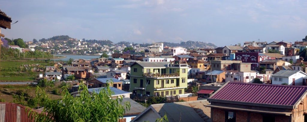Antananarivo Neighborhood near Lake Masay