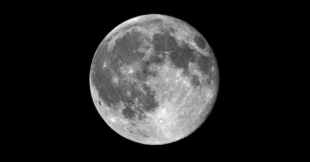 Blue Moon in Monochrome by Bill Dickinson (CC BY-NC-ND 2.0) https://flic.kr/p/wLbZUL