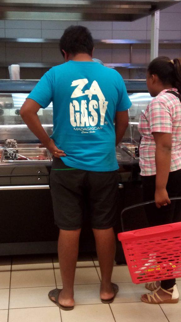 ZA GASY t‑shirt