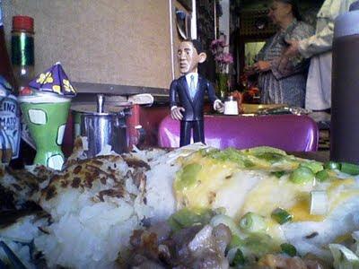 Obama figurine at Martanne's, Flagstaff, AZ