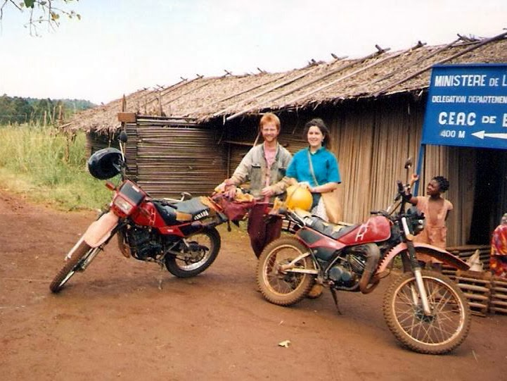 Ted and Susan near Mbuoda, Cameroon
