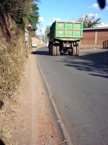 Diesel Lorry in Ivandry, Antanarivo, Madagascar