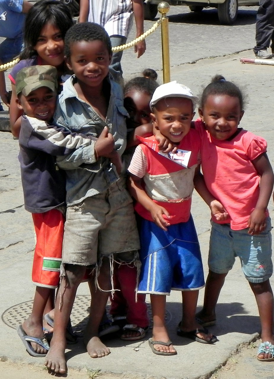 Cute Kids in Antananarivo, Madagascar