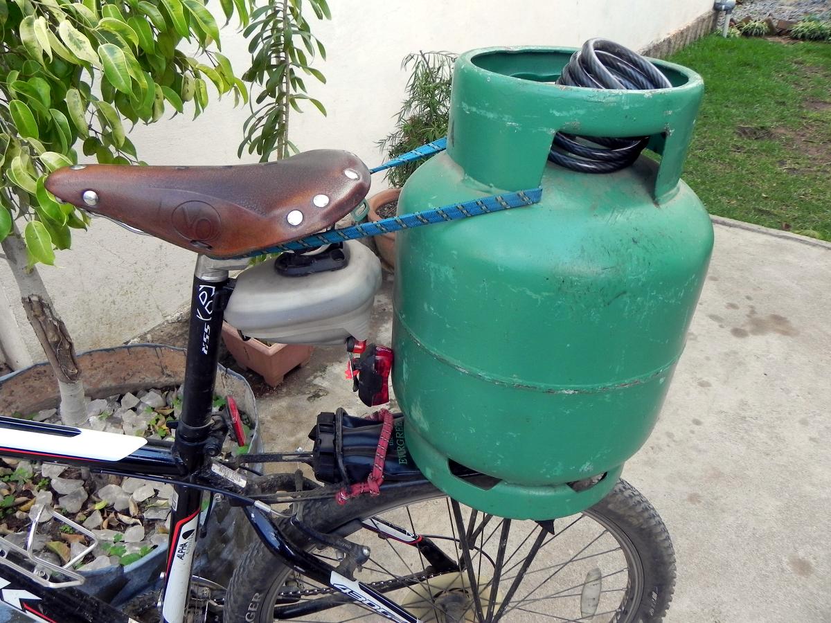 Propane by Bike