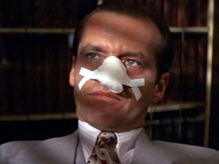 Jack Nicholson - Nose Plaster - Chinatown